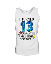 13th birthday 13 year old Unisex Tank tile
