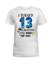 13th birthday 13 year old Ladies T-Shirt tile