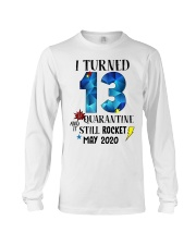 13th birthday 13 year old Long Sleeve Tee tile