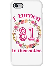 81st Birthday 81 Years Old Phone Case thumbnail