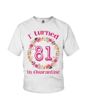81st Birthday 81 Years Old Youth T-Shirt thumbnail