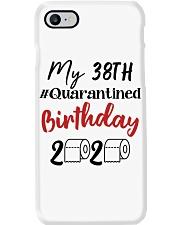 38th Birthday Quarantined 38 Year Old Phone Case thumbnail