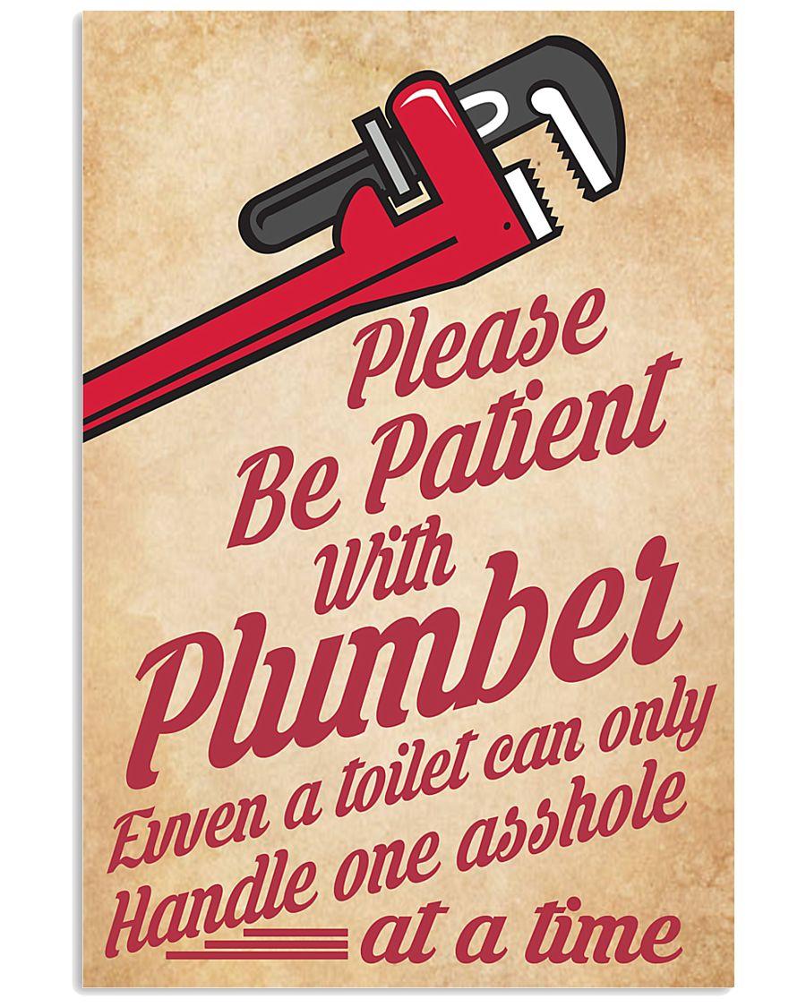 Plumber 24x36 Poster