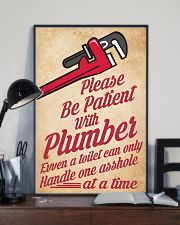 Plumber 24x36 Poster lifestyle-poster-2