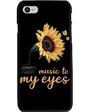 hippie music to my eyes Phone Case thumbnail