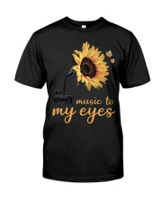 hippie music to my eyes Classic T-Shirt front