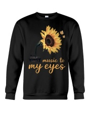 hippie music to my eyes Crewneck Sweatshirt thumbnail