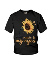 hippie music to my eyes Youth T-Shirt thumbnail