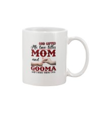 God Gifted Me Two Titles Mom And Gooma Mug thumbnail