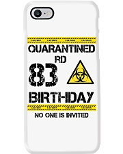 83rd Birthday 83 Years Old Phone Case thumbnail