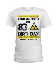 83rd Birthday 83 Years Old Ladies T-Shirt thumbnail