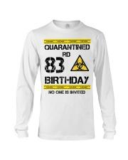 83rd Birthday 83 Years Old Long Sleeve Tee thumbnail