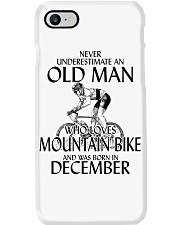 Never Underestimate Old Man Mountain Bike December Phone Case thumbnail