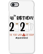40th Birthday 40 Years Old Phone Case thumbnail
