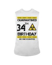 34th Birthday 34 Years Old Sleeveless Tee thumbnail