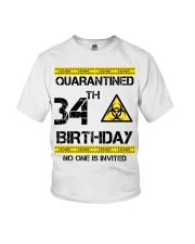 34th Birthday 34 Years Old Youth T-Shirt thumbnail