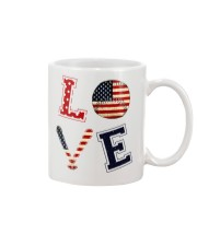 Baseball Lover USA Flag Mug thumbnail