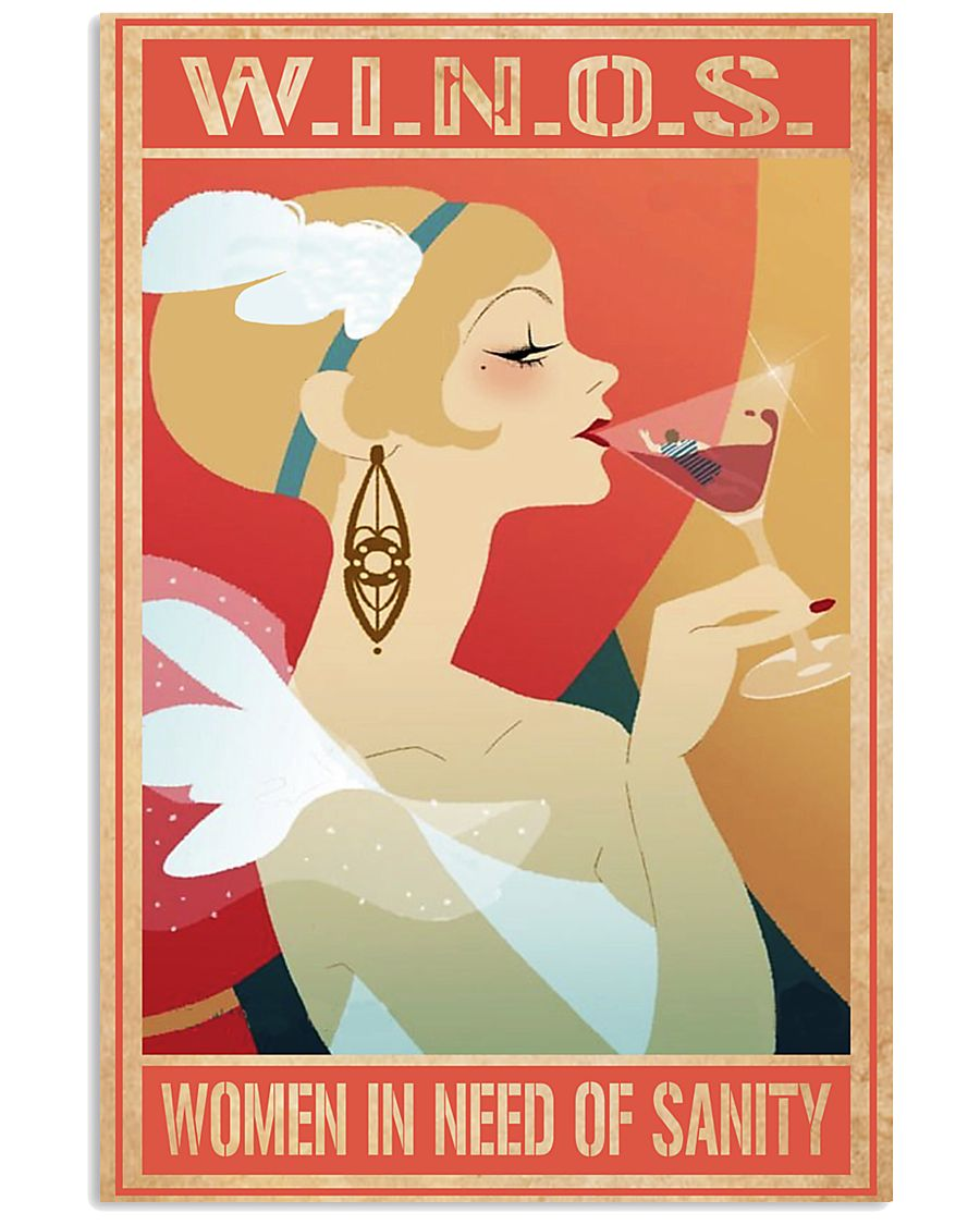 WINOS Women In Need Of Sanity 24x36 Poster