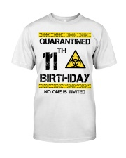 11th Birthday 11 Years Old Classic T-Shirt front