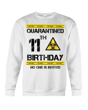 11th Birthday 11 Years Old Crewneck Sweatshirt thumbnail