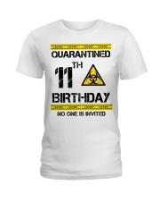11th Birthday 11 Years Old Ladies T-Shirt thumbnail