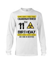 11th Birthday 11 Years Old Long Sleeve Tee thumbnail