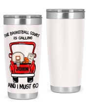 Personalized Christmas Gift 20oz Tumbler front