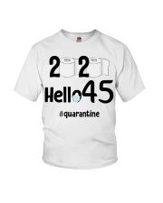 45th Birthday 45 Years Old Youth T-Shirt thumbnail