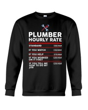 plumber hour shirt Crewneck Sweatshirt tile
