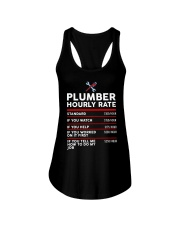 plumber hour shirt Ladies Flowy Tank thumbnail