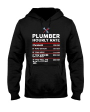 plumber hour shirt Hooded Sweatshirt thumbnail