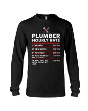 plumber hour shirt Long Sleeve Tee tile