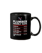 plumber hour shirt Mug tile