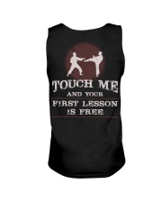 Karate Touch Me Unisex Tank tile