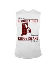 Just An Florida Girl In Rhode island Sleeveless Tee thumbnail