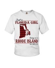 Just An Florida Girl In Rhode island Youth T-Shirt thumbnail