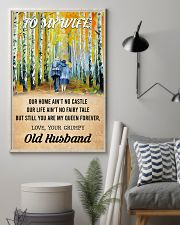 To My Wife From Old Husband 24x36 Poster lifestyle-poster-1