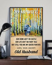 To My Wife From Old Husband 24x36 Poster lifestyle-poster-2