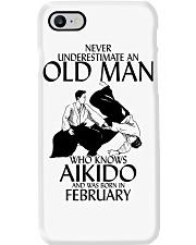 Never Underestimate Old Man Aikido February Phone Case thumbnail