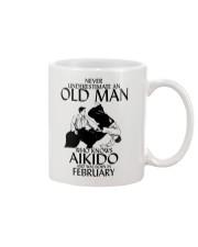Never Underestimate Old Man Aikido February Mug thumbnail