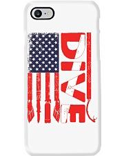 Scuba Diving American Flag Phone Case thumbnail