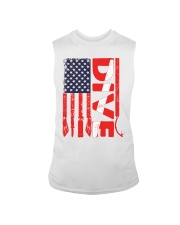 Scuba Diving American Flag Sleeveless Tee thumbnail