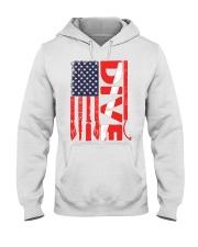 Scuba Diving American Flag Hooded Sweatshirt thumbnail