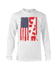 Scuba Diving American Flag Long Sleeve Tee thumbnail