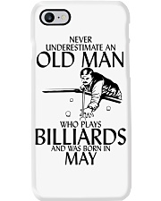Never Underestimate Old  Man Billiards May Phone Case thumbnail