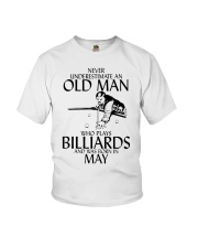 Never Underestimate Old  Man Billiards May Youth T-Shirt thumbnail