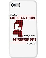 Just A Louisiana Girl In Mississippi World Phone Case thumbnail