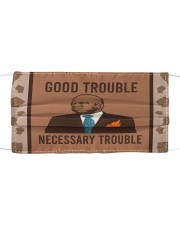 good trouble necessary trouble Cloth face mask thumbnail