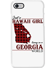 Just A Hawaii Girl In Georgia Phone Case tile