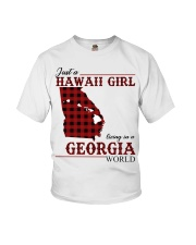 Just A Hawaii Girl In Georgia Youth T-Shirt thumbnail